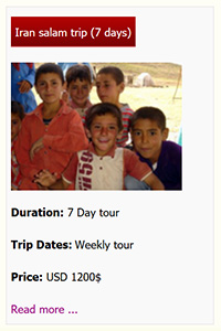 Iran salam tour premium 7 days